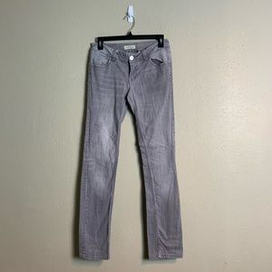 Paris blues gray skinny jeans 7 8 k35